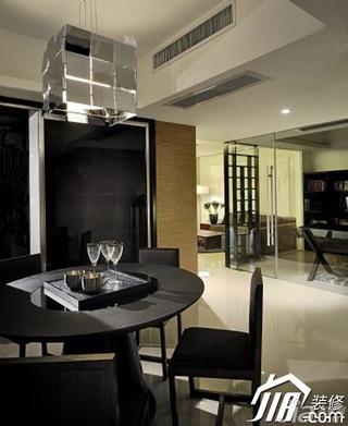 混搭风格公寓艺术5-10万120平米餐厅餐桌效果图