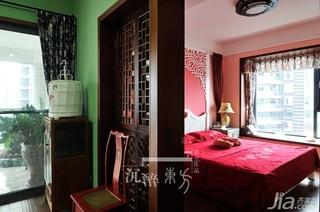 非空中式风格舒适富裕型140平米以上卧室隔断床效果图