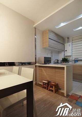 loft风格复式15-20万厨房吧台橱柜婚房设计图纸