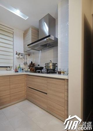loft风格复式15-20万厨房橱柜婚房家装图