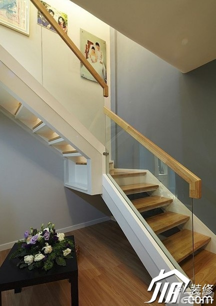 loft风格,婚房装修,复式装修,简约风格,15-20万装修,经济型装高清图片