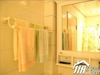 日式风格小户型经济型60平米卫生间装潢