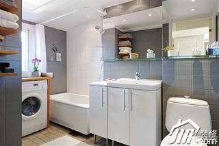 简约风格公寓富裕型80平米浴缸图片