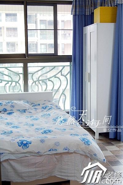 非空公寓富裕型卧室床效果图