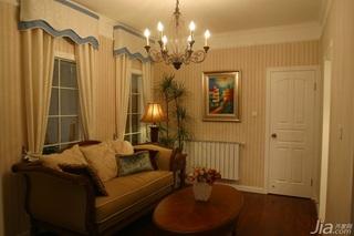 新古典风格公寓富裕型客厅沙发效果图