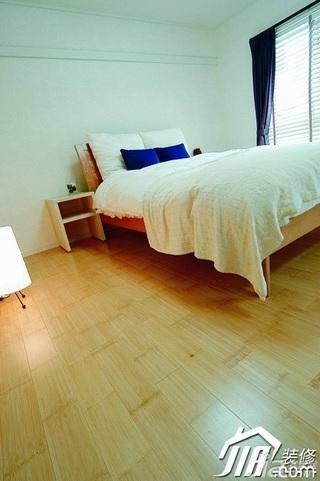 简约风格公寓简洁经济型卧室床效果图