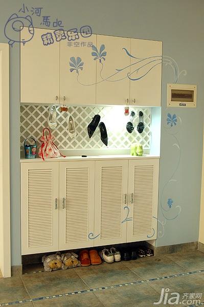 非空公寓120平米鞋柜图片