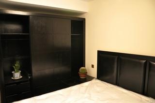 混搭风格公寓富裕型90平米卧室衣柜设计图
