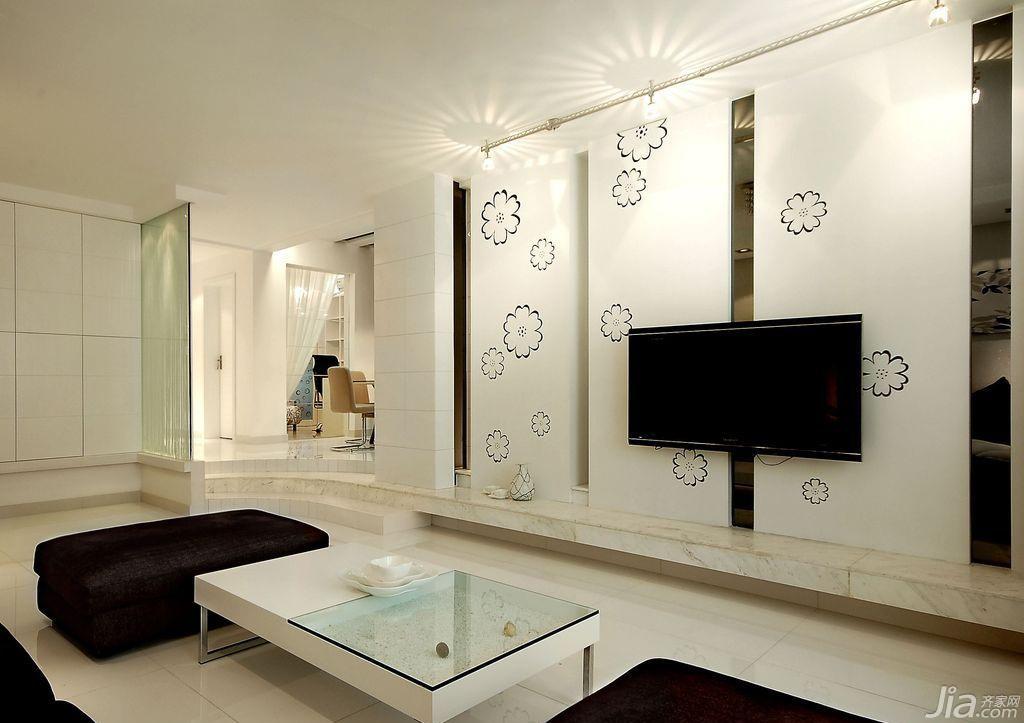 客厅背景墙沙发效果图
