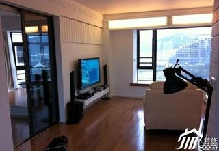 简约风格小户型客厅电视柜图片
