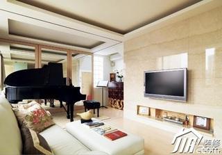 简约风格二居室5-10万客厅沙发效果图