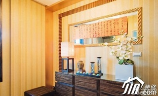 中式风格15-20万餐厅餐边柜效果图