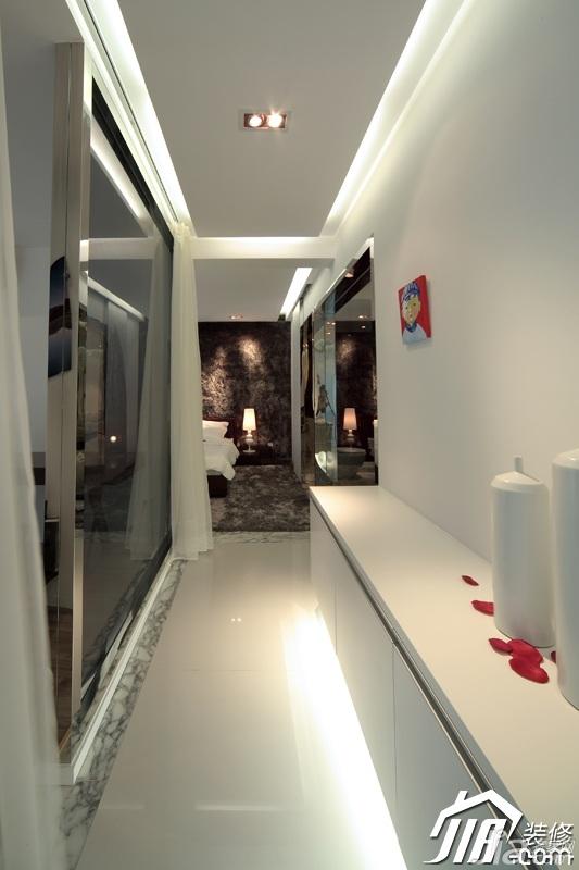 loft风格公寓富裕型走廊设计图纸