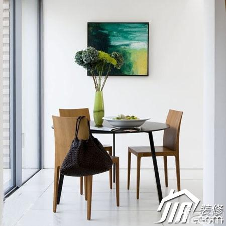 简约风格小户型3万以下40平米餐厅餐桌图片