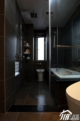 欧式风格公寓富裕型卫生间婚房设计图