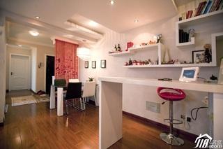 混搭风格公寓富裕型工作区灯具效果图
