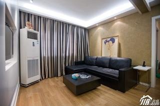 简约风格小户型简洁经济型客厅沙发婚房家装图片