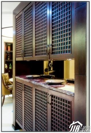 混搭风格公寓20万以上130平米隔断婚房家装图