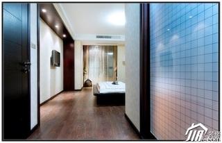 混搭风格公寓20万以上130平米过道窗帘婚房家装图片