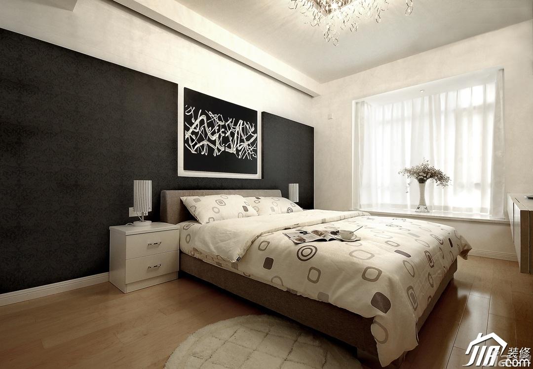 10平卧室 1.8米床 效果图
