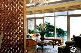 欧式风格别墅奢华豪华型140平米以上客厅隔断沙发效果图