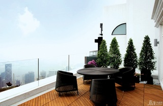 欧式风格别墅奢华豪华型140平米以上露台效果图