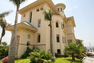 欧式风格别墅奢华白色豪华型效果图
