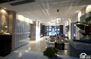 欧式风格三居室稳重豪华型140平米以上客厅过道沙发效果图