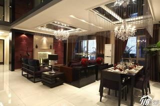 东南亚风格公寓奢华豪华型140平米以上客厅沙发效果图