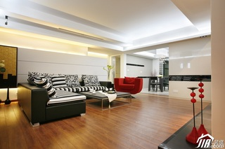 简约风格公寓富裕型客厅沙发图片