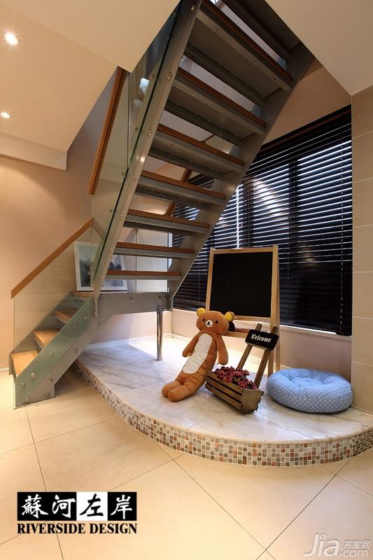 简约风格复式时尚富裕型140平米以上楼梯设计图纸