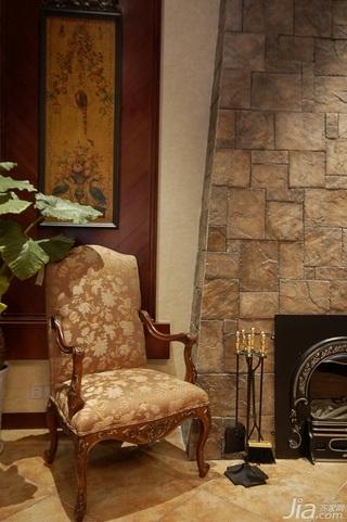 欧式风格别墅奢华暖色调豪华型140平米以上装修效果图