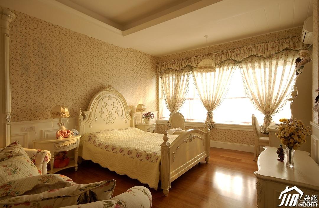 欧式风格别墅古典暖色调豪华型140平米以上卧室沙发效果图
