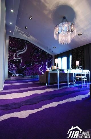 欧式风格公寓奢华豪华型140平米以上客厅沙发效果图