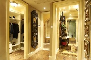 欧式风格别墅浪漫暖色调豪华型140平米以上衣帽间过道地毯效果图