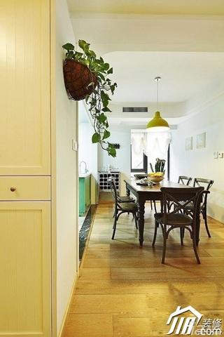 简约风格公寓艺术5-10万90平米餐厅餐桌效果图