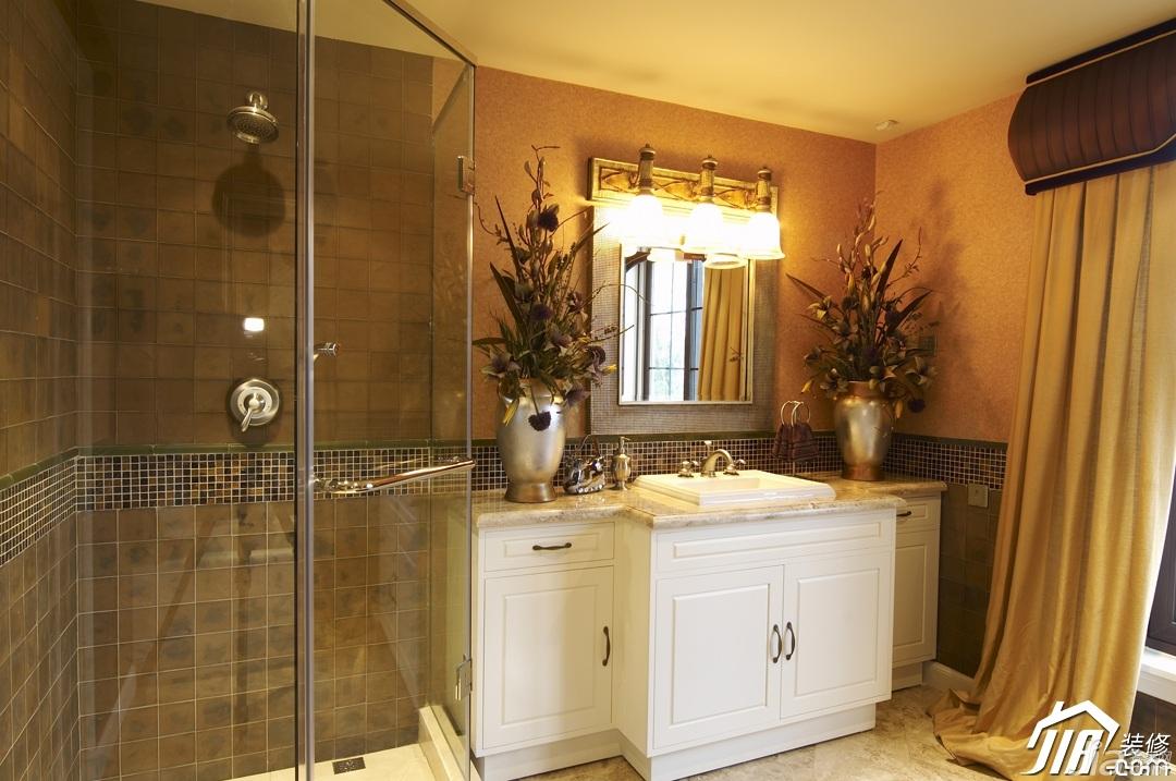 混搭风格别墅豪华型淋浴房订做