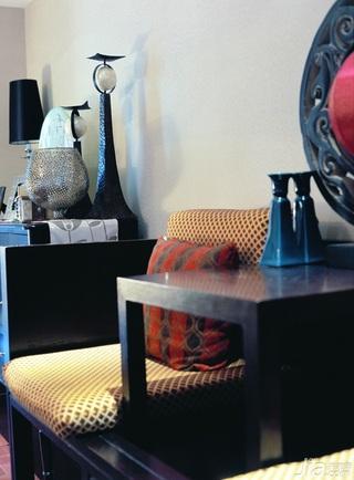 新古典风格公寓古典豪华型140平米以上客厅壁纸效果图