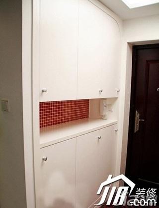简约风格公寓豪华型玄关鞋柜效果图