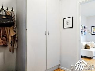 北欧风格小户型浪漫白色经济型衣柜设计图纸
