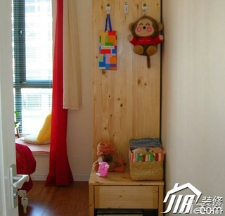 田园风格公寓5-10万90平米卧室衣柜效果图