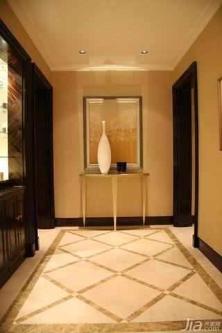 简约风格二居室大气暖色调豪华型过道效果图