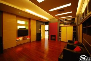 欧式风格别墅豪华型客厅电视背景墙沙发图片