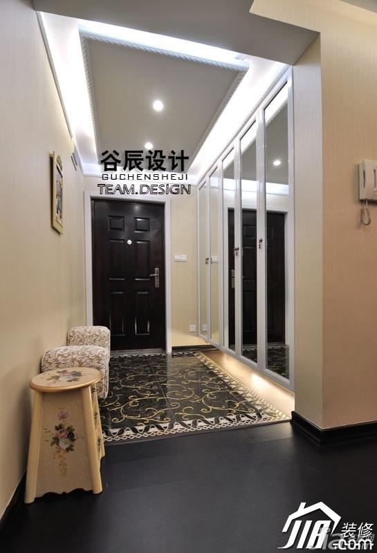 简约风格公寓富裕型门厅装潢