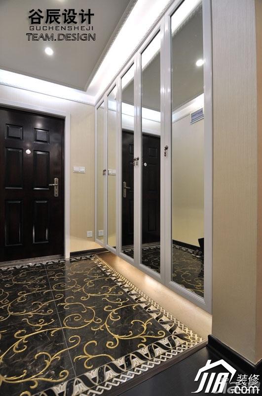 简约风格公寓富裕型门厅装修图片