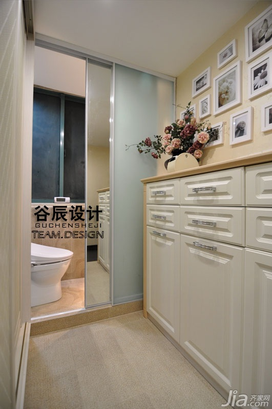 简约风格公寓富裕型淋浴房定制