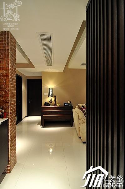 简约风格三居室时尚富裕型130平米门厅马赛克白领设计图