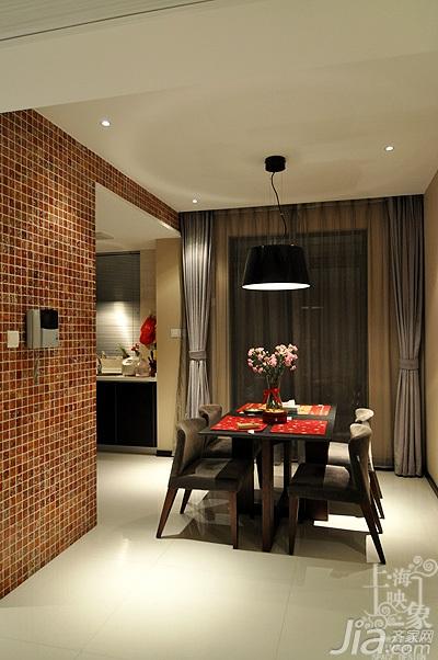 简约风格三居室时尚富裕型130平米餐厅餐桌白领家居图片