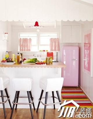 简约风格公寓温馨10-15万90平米餐厅吧台吧台椅效果图