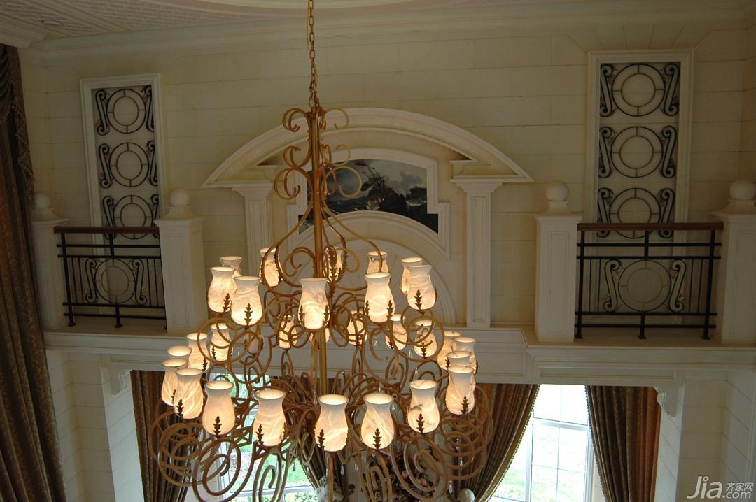 欧式风格别墅奢华白色富裕型装修效果图